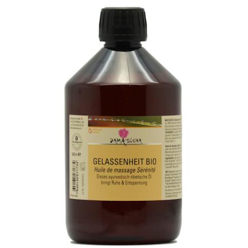 Gelassenheit Massageöl BIO 500ml