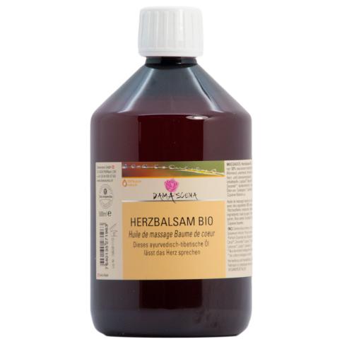 Herzbalsam Massageöl BIO 500ml