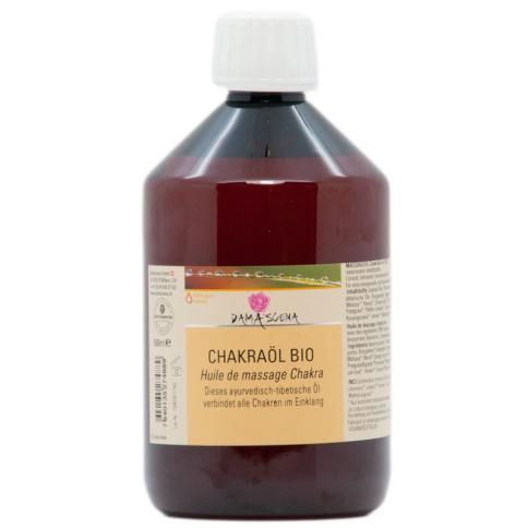 Chakra Massageöl BIO 500ml