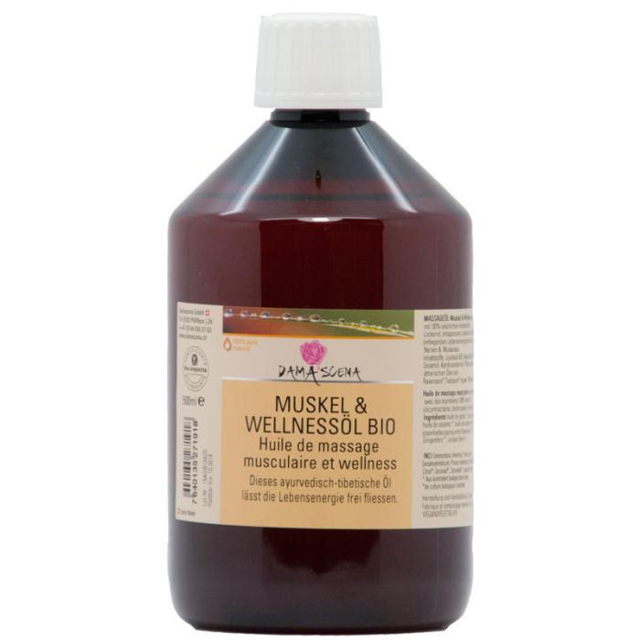 Muskel- & Wellnessöl BIO 500ml - Massageöl