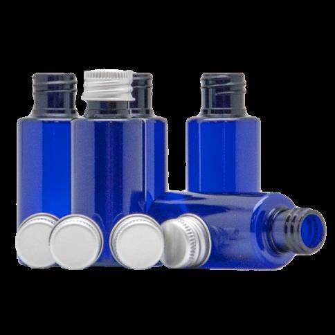 Blauflasche mit Aludeckel 30ml