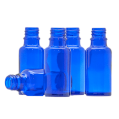 Blauglas 20 ml ohne Verschluss
