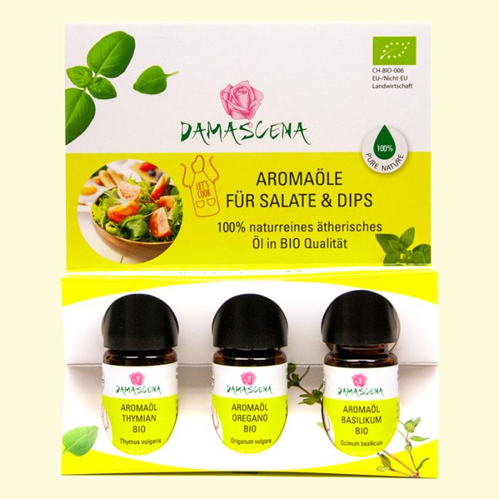Aromaset für Salate & Dips - Aromaküche