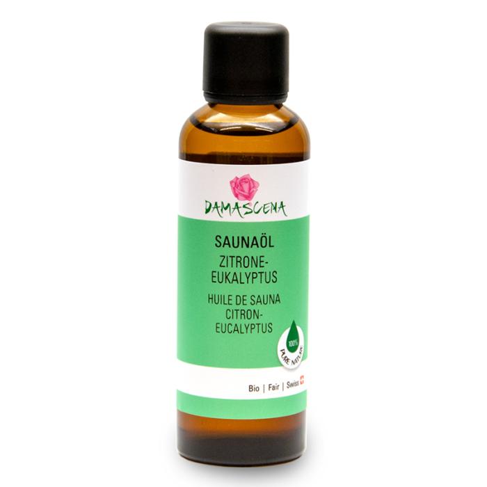 Zitrone-Eukalyptus Saunaöl Bio