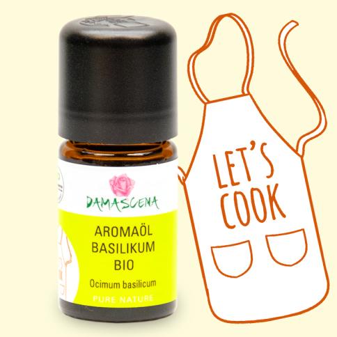 Basilikum BIO Aromaöl - Aromaküche
