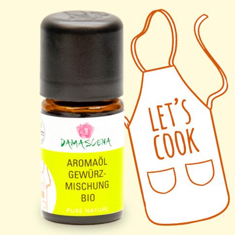Gewürzmischung BIO Aromaöl - Aromaküche