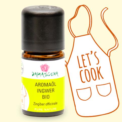 Ingwer BIO Aromaöl - Aromaküche