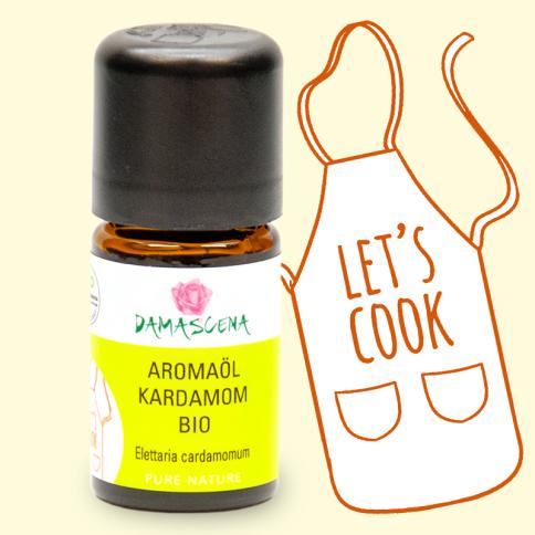 Kardamom BIO Aromaöl - Aromaküche