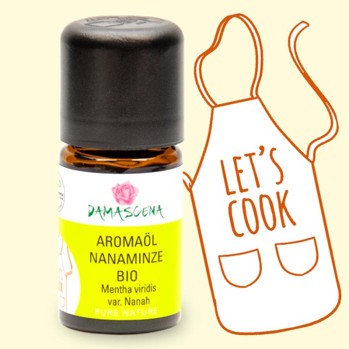 Nanaminze BIO Aromaöl - Aromaküche