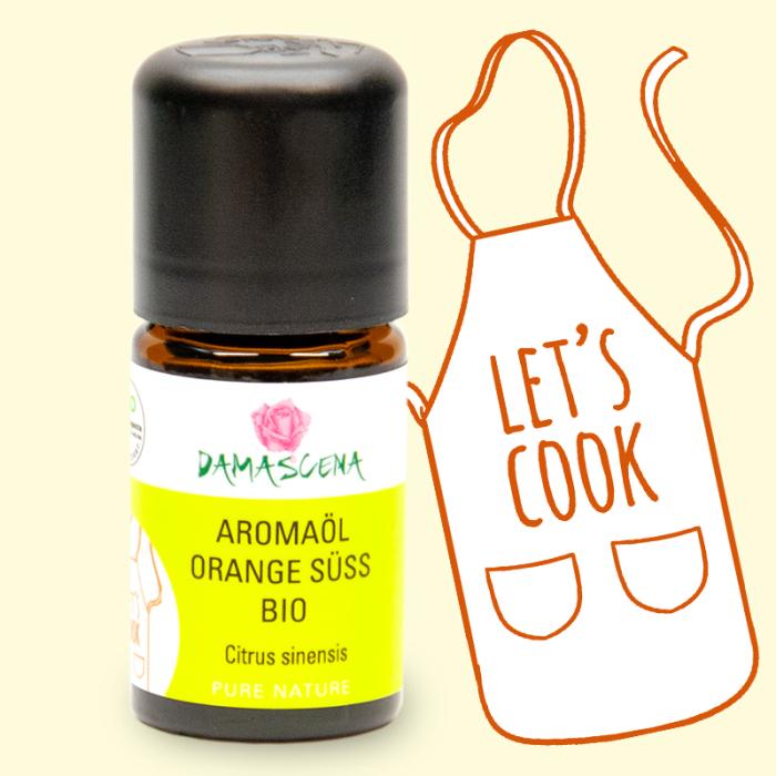 Orange süss BIO Aromaöl - Aromaküche
