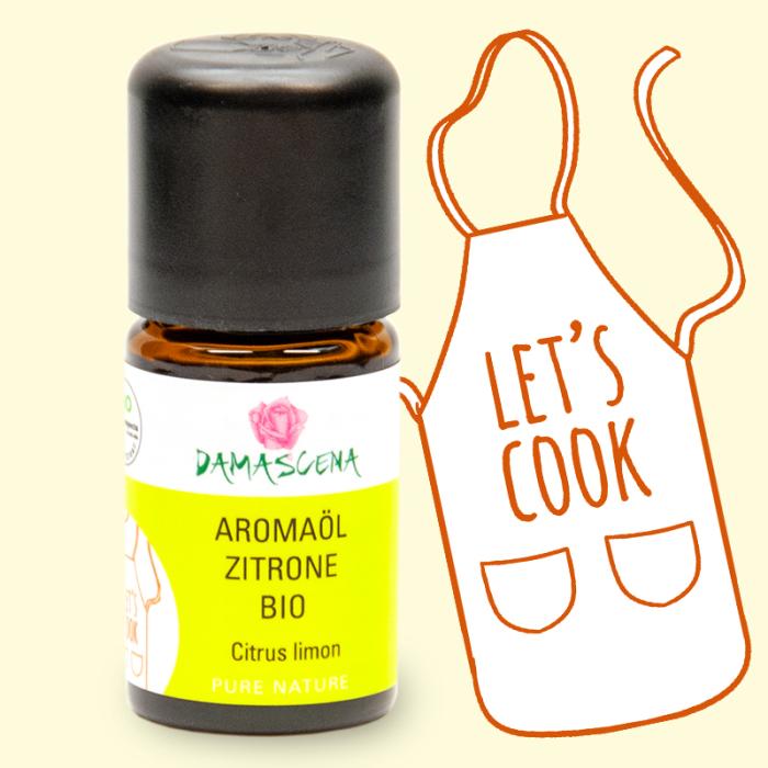 Zitrone BIO Aromaöl - Aromaküche