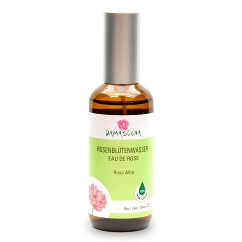 Rosenblütenwasser Alba BIO 100ml - Pflanzenwasser | Hydrolat Spray