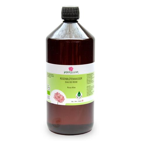Rosenblütenwasser Alba BIO 1000ml - Pflanzenwasser | Hydrolat