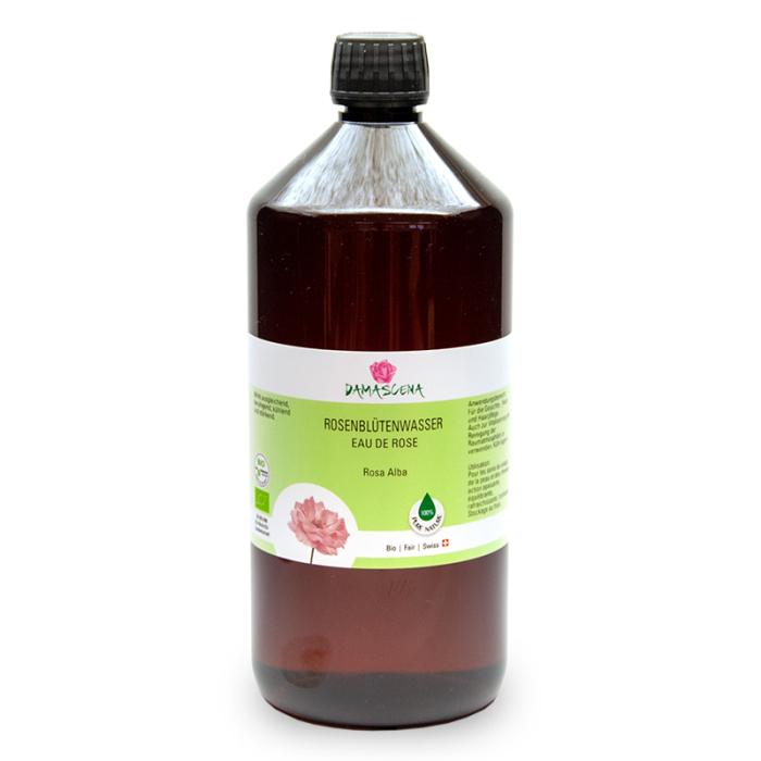Rosenblütenwasser Alba BIO 1000ml - Pflanzenwasser   Hydrolat