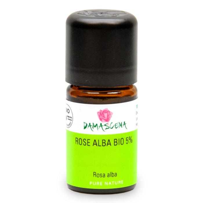 Rose Alba 5% BIO - ätherisches Öl