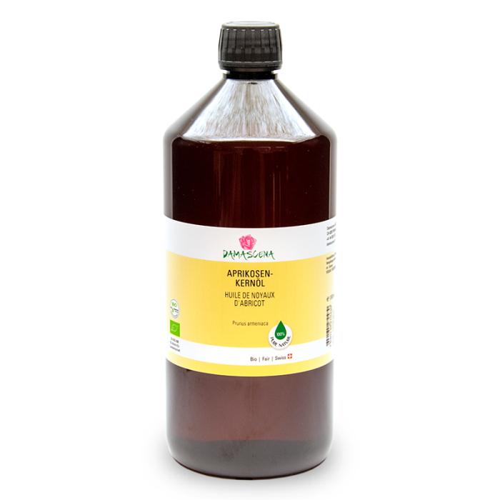 Aprikosenkernöl BIO 1000ml - Pflege- und Basisöl