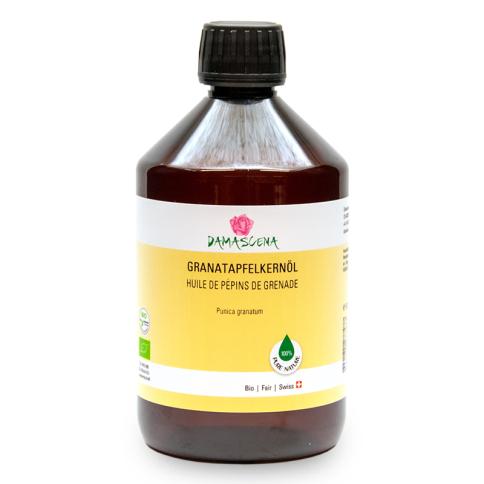 Granatapfelkernöl BIO 500ml - Pflege- und Basisöl