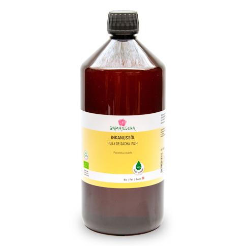 Inkanussöl BIO 1000ml - Pflege- und Basisöl