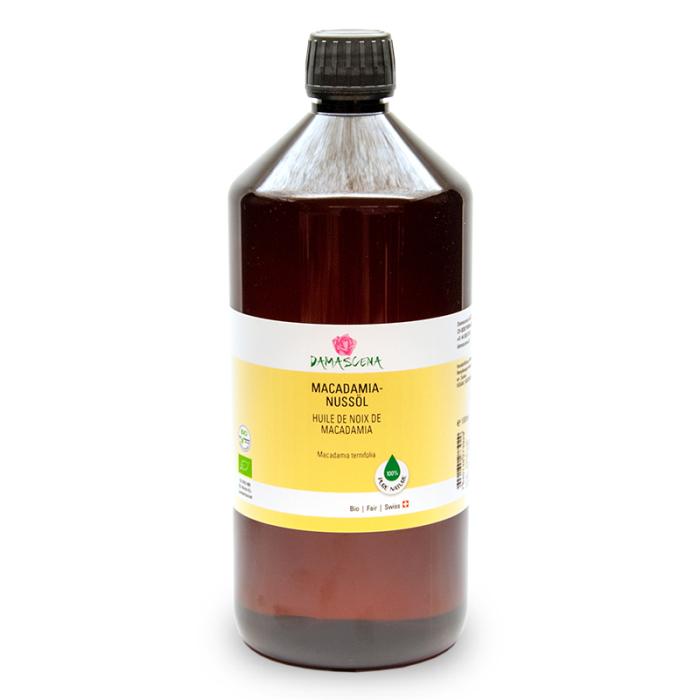 Macadamianussöl BIO 1000ml - Pflege- und Basisöl