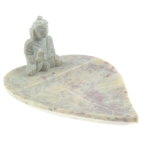 Buddha auf Lotusblatt
