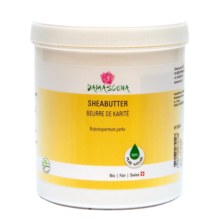 Sheabutter / Karitébutter BIO 500 - Pflege- und Basisöl