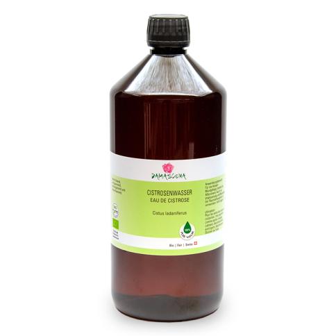 Cistrosewasser BIO 1000ml - Pflanzenwasser   Hydrolat