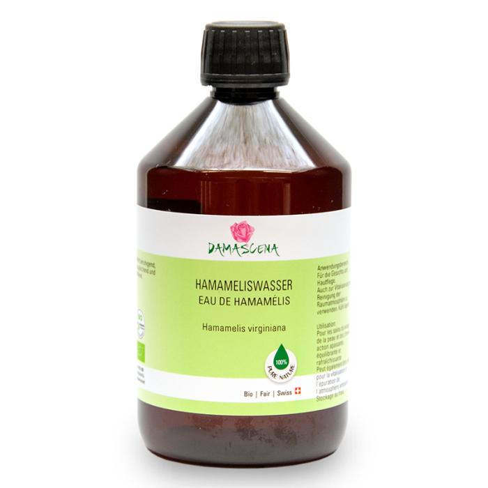 Hamameliswasser BIO 500ml - Pflanzenwasser   Hydrolat