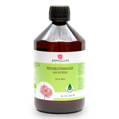 Rosenblütenwasser Alba BIO 500ml - Pflanzenwasser | Hydrolat
