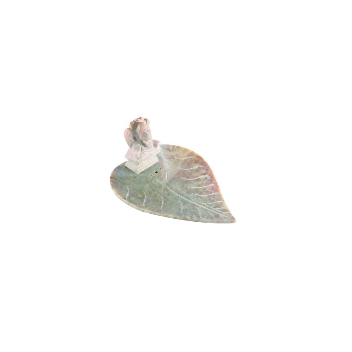 Ganesh auf Lotusblatt