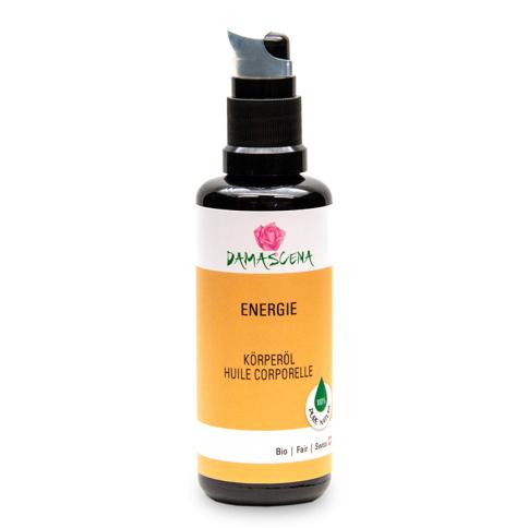 Energie Massageöl BIO 50ml - Körperöl