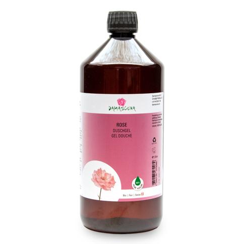 Rose Duschgel Nachfüllung 1000ml - Körperpflege