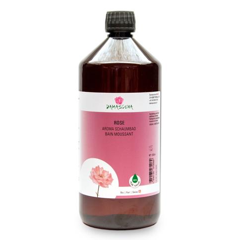 Rose Aroma Schaumbad 1000ml - Körperpflege