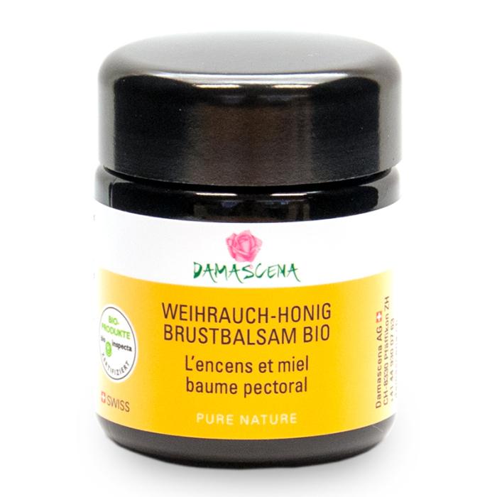 Weihrauch-Honig Brustbalsam BIO